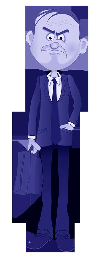 Boss CharacterBlueSmall